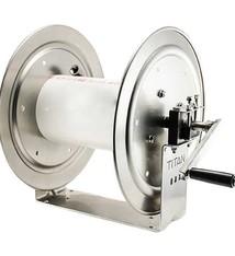 "12"" Aluminum & SS Reel –  Pressure hose 3/8"" 6000 PSI  200'"