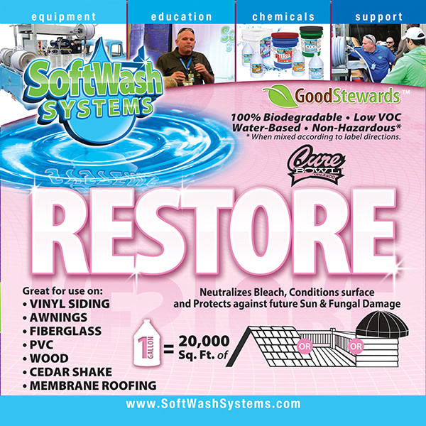 SoftWash Systems Restore