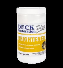 Deck Restoration Plus Wood Brightener