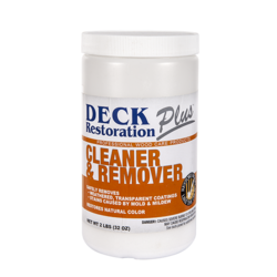Deck Restoration Plus Wood Cleaner & Remover