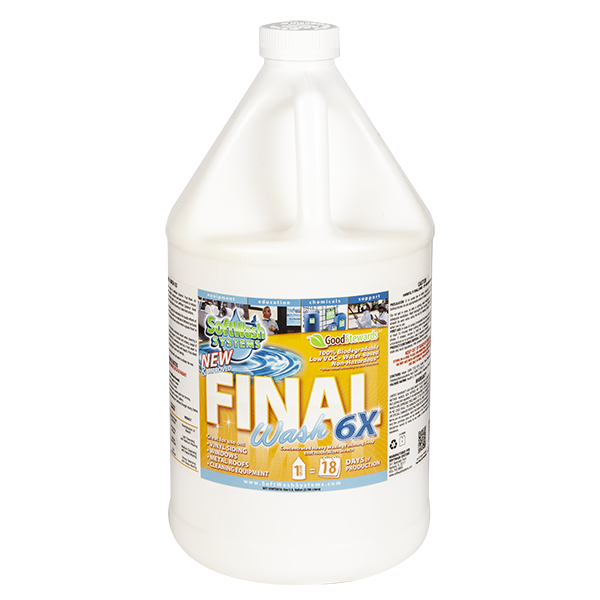 SoftWash Systems Final Wash 6X