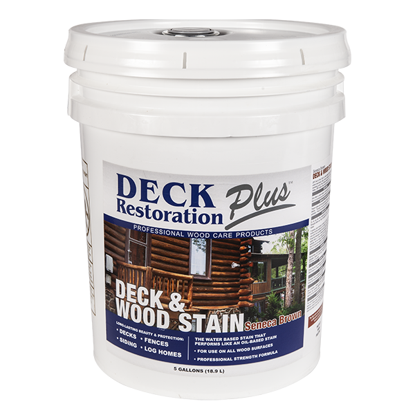 Deck Restoration Plus Wood Stain (5 Gallons)