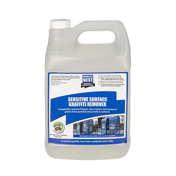 Graffiti Remover - Sensitive Surface