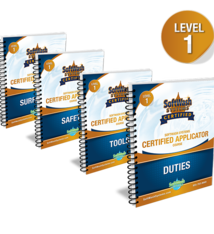 SoftWash Systems Certified Applicator Course - 1 Workbooks Only