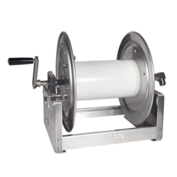 "12"" Manual Full Frame Hose Reel - No Hose"