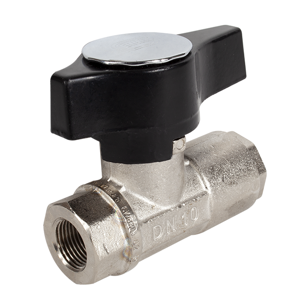 Ball Valve 3050 PSI 3/8 FPT Nickel Plated (On Off Switch) - PSI