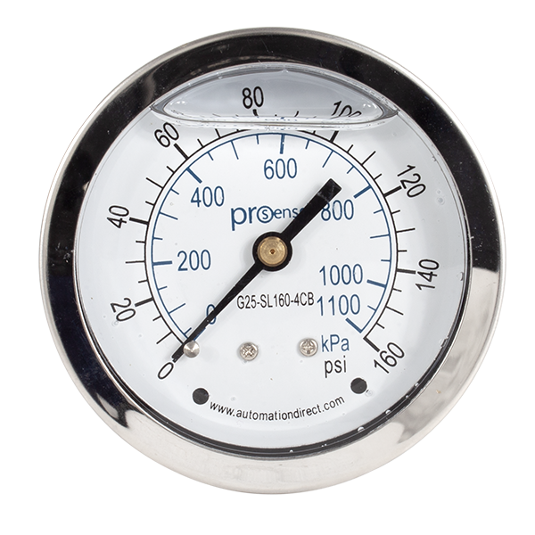 Liquid Filled Gauge - Pressure Gauge (160 PSI)