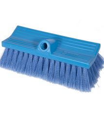Brush Soft FlowThru 10in Blue BiLevel
