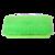 Brush Soft FlowThru 10in Green BiLevel