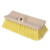 Brush Stiff FlowThru 10in Yellow BiLevel