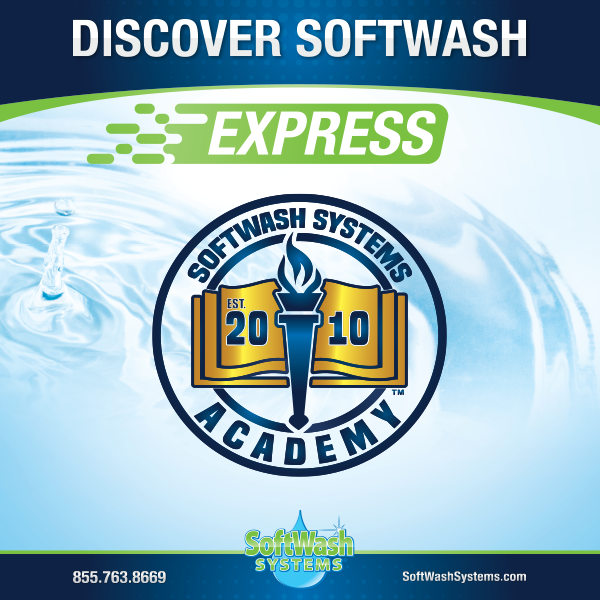 Discover SoftWash Express @ Charleston, SC April 22, 2021
