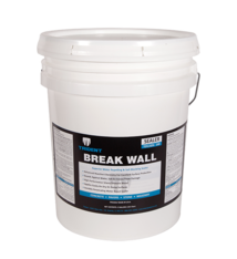 Breakwall - Water Repellent & Salt Blocker Invisible Penetrating Sealer (5 Gal)