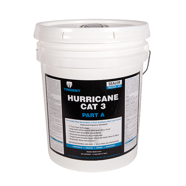 Hurricane CAT 3 - Sealer 5 Gallon-Kit (Part A and B)