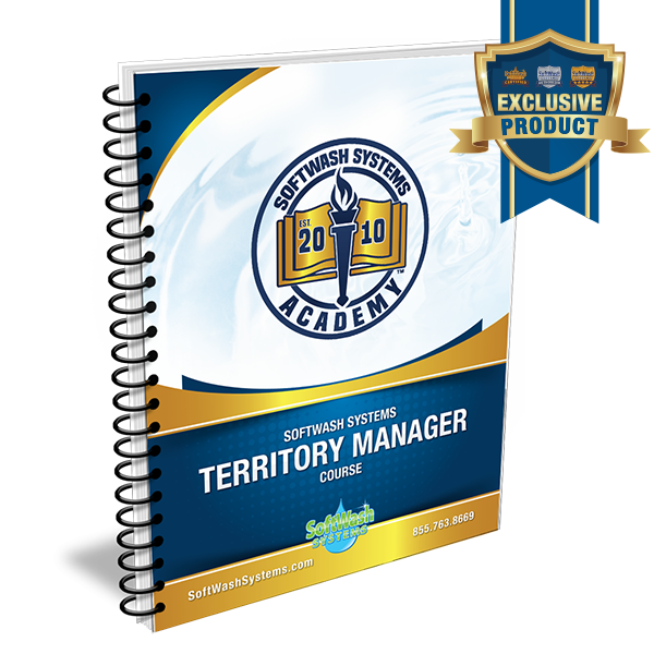 SoftWash Systems Territory Manager Course - Workbook Only