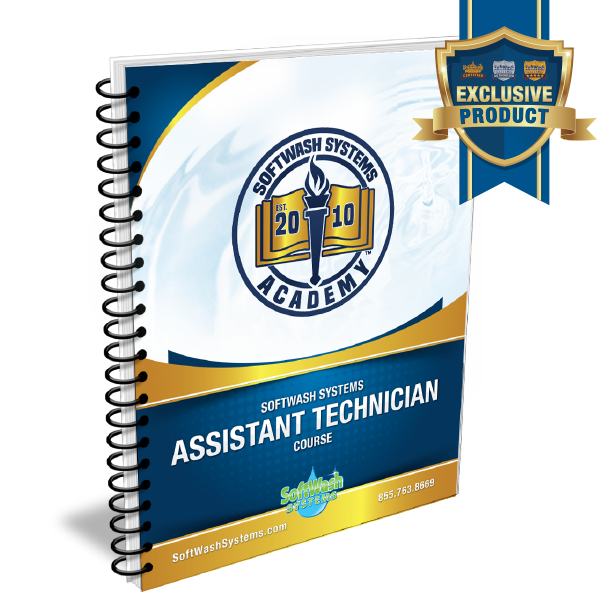 SoftWash Systems Assistant Lead Technician Course - Workbook Only