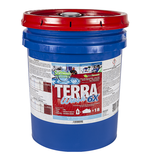 SoftWash Systems Terra Wash 6X 5 Gallons