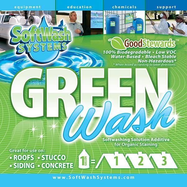 SoftWash Systems Green Wash
