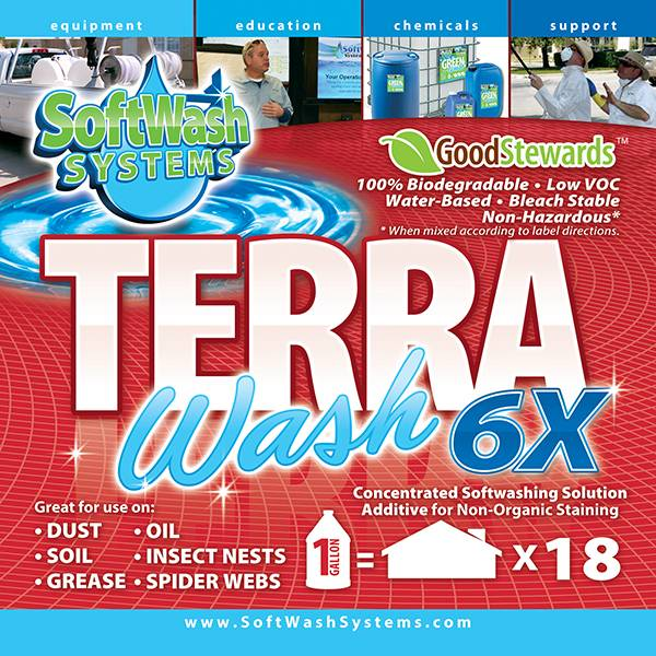 SoftWash Systems Terra Wash 6X