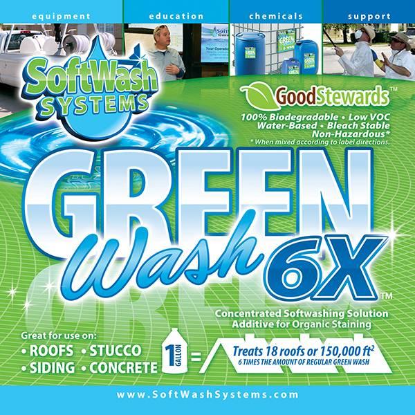 Green Wash 6X