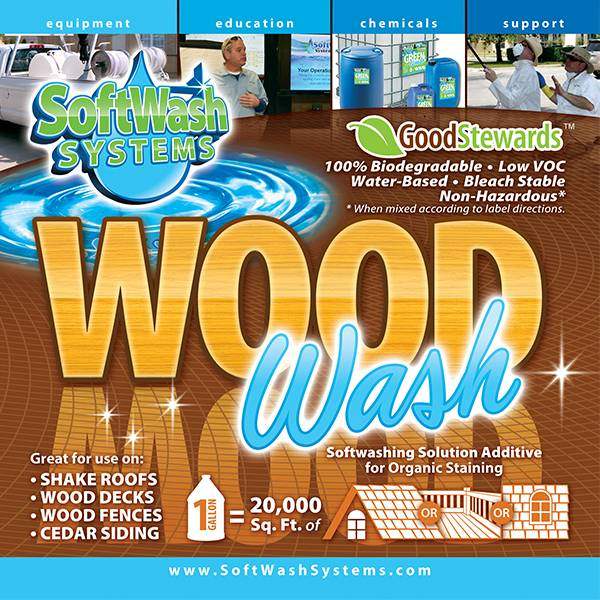 SoftWash Systems Wood Wash