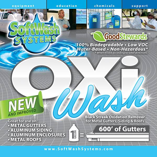 SoftWash Systems Oxi Wash