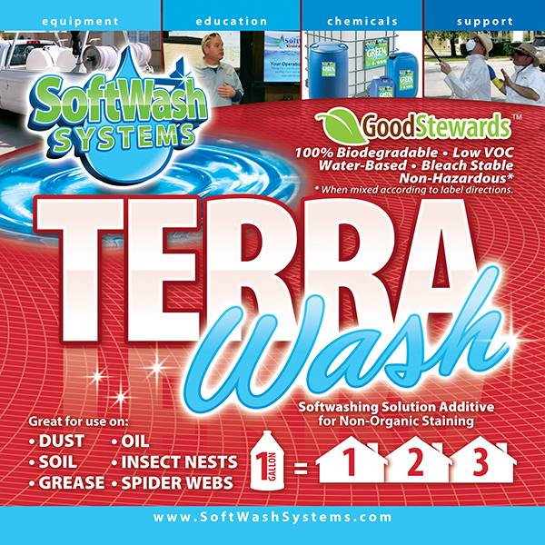 SoftWash Systems Terra Wash