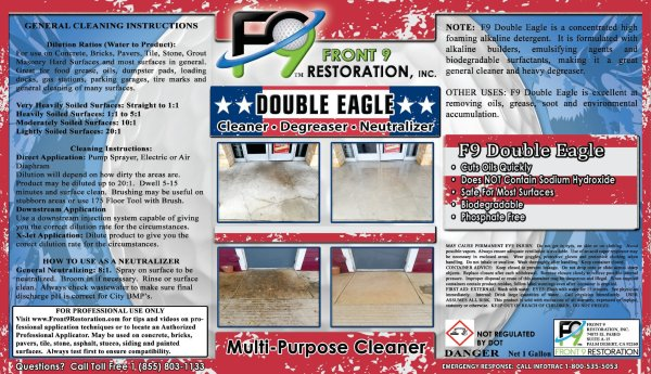 F9 Double Eagle - 1 Gallon
