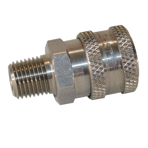 "Quick connect Socket Male 1/4 "" - SS"
