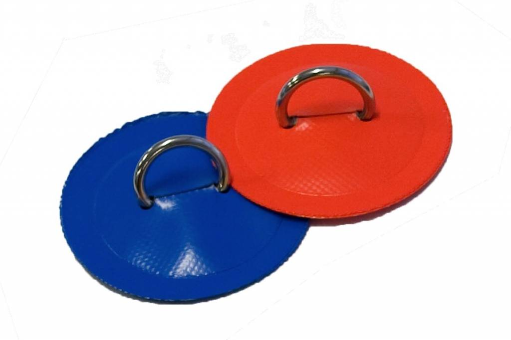 "Northwest River Supply D ring 1"" - Aire, 4"" circle PVC"