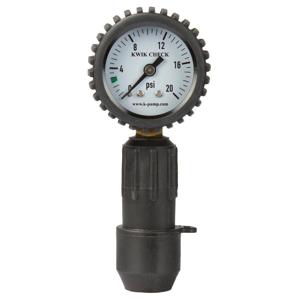 Northwest River Supply Pressure Gauge Kwik Check