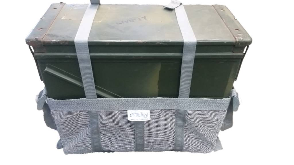 Wolfgang Upholstery Ammo Can, Rocket Box sling/bag fits 20mm and 30mm