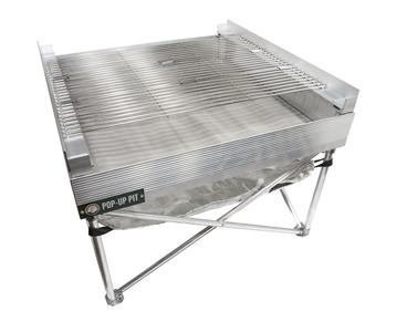 Fireside Industries, Inc. Pop-up Pit Tri-Fold Grill for Firepan