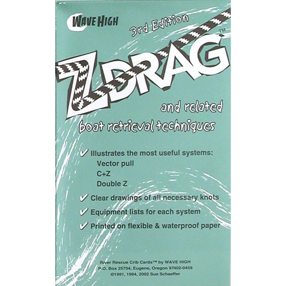 Northwest River Supply Z Drag Rescue Crib Sheet