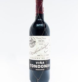 Wine-Red-Lush R. Lopez de Heredia Vina Tondonia Rioja DOCa Reserva 2006