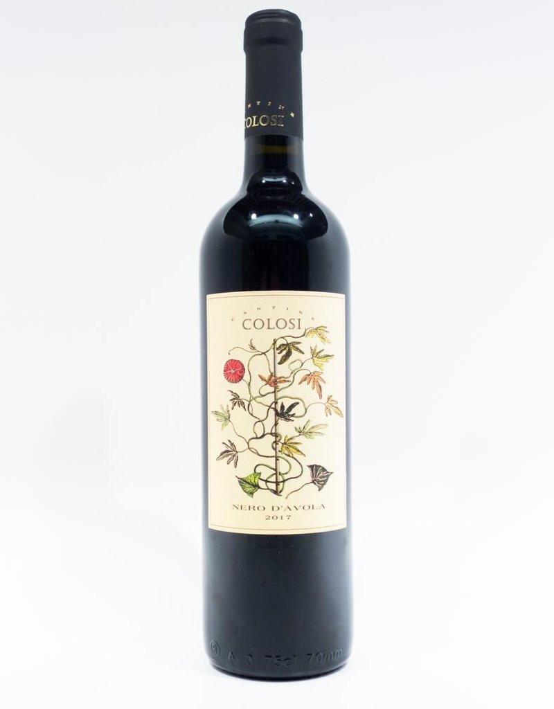 Wine-Red-Lush Cantine Colosi Nero d'Avola Sicilia DOC 2017