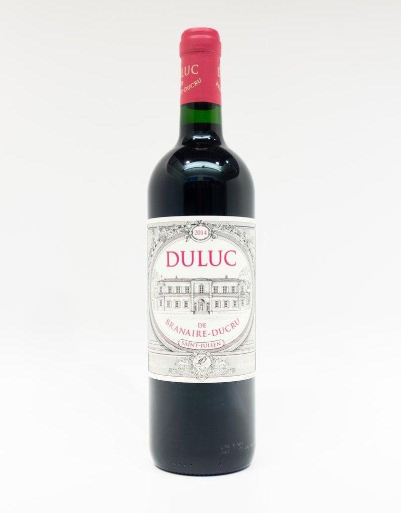Wine-Red-Lush Chateau Branaire-Ducru 'Duluc de Branaire-Ducru' St-Julien AOC 2014