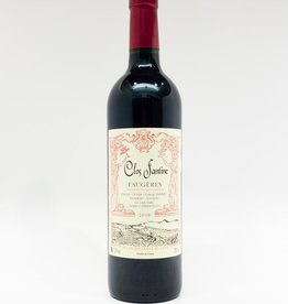 Wine-Red-Lush Clos Fantine Faugeres AOC 'Cuvee Tradition' 2016