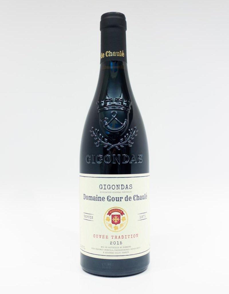 Wine-Red-Big Domaine Gour de Chaule Gigondas AOC 'Cuvee Tradition' 2015