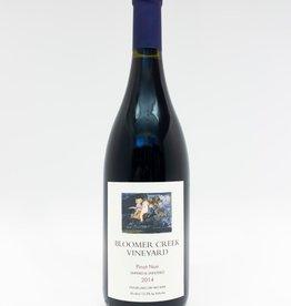 Wine-Red-Lush Bloomer Creek Pinot Noir Finger Lakes 2014