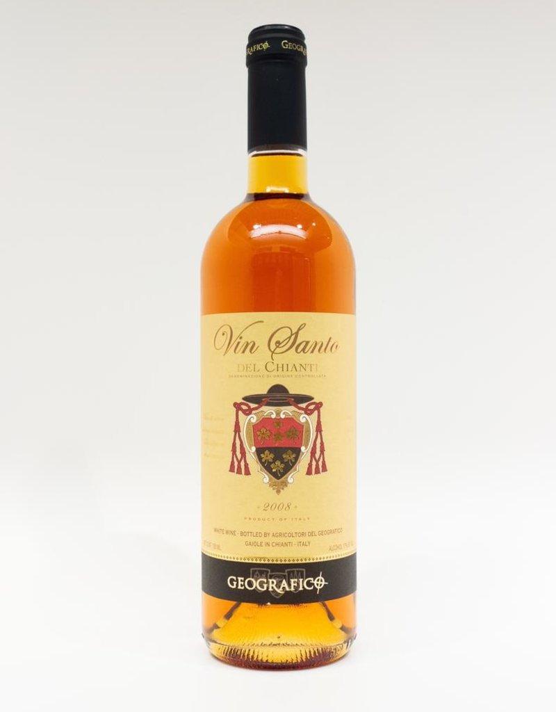 Wine-Dessert-White Geografico Vin Santo del Chianti DOC 2008 750ml