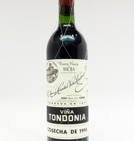 Wine-Red-Lush R. Lopez de Heredia Vina Tondonia Rioja DOCa Gran Reserva 1995