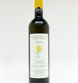 Wine-White-Round Venica & Venica Pinot Grigio 'Jesera' Collio DOC 2017
