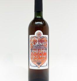 Wine-Orange/Skin-fermented Cradle of Wine Gogi's Wine Rkatsiteli Kakheti 2013