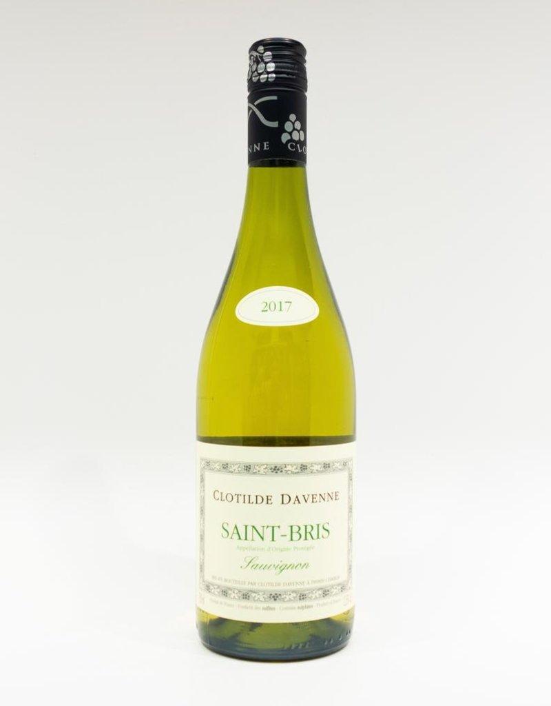 Wine-White-Crisp Clotilde Davenne Sauvignon Blanc Saint Bris AOC 2017