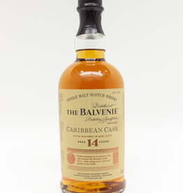 Spirits-Whiskey-Scotch-Single-Malt The Balvenie 14 Year Old Single Malt Scotch Whisky Caribbean Cask 750ml