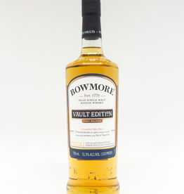 Spirits-Whiskey-Scotch-Single-Malt Bowmore Vault Edition First Release Scotch 750ml