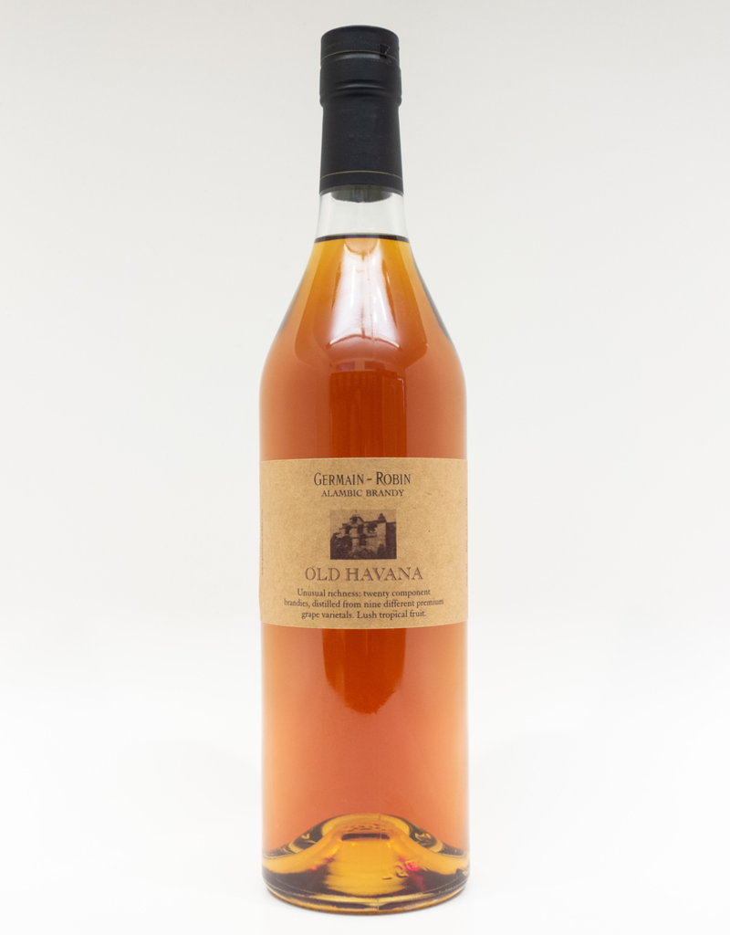 Spirits-Brandy/Grappa/Eau-de-Vie Germain-Robin Old Havana Brandy 750ml