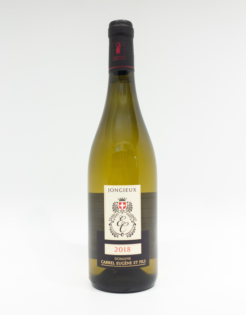 Wine-White-Crisp Eugene Carrel Vin de Savoie AOC Jongieux 2018