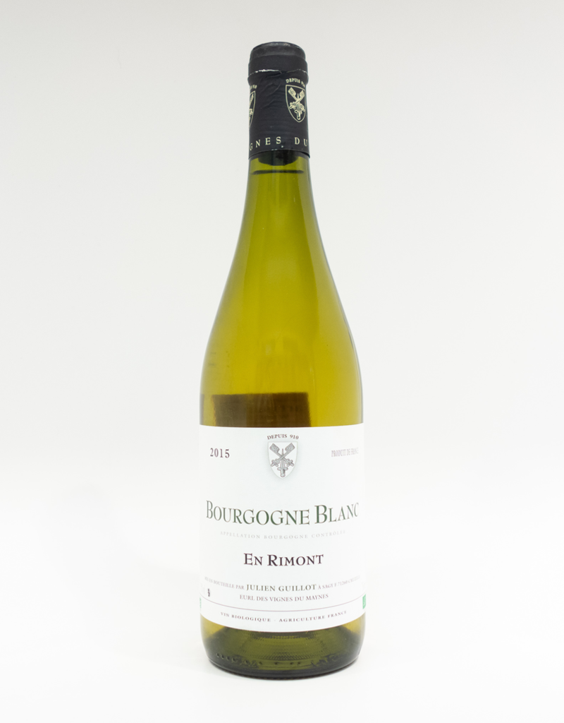 Wine-White-Round Julien Guillot Bourgogne AOP Blanc 'En Rimont' 2015