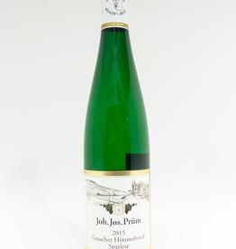 Wine-White-Rich Weingut Joh. Jos. Prum Riesling Spatlese Mosel Graacher Himmelreich Vineyard 2015